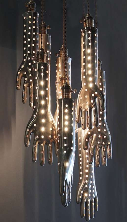 Handy #Hanging #Lights this is definitely #creepy