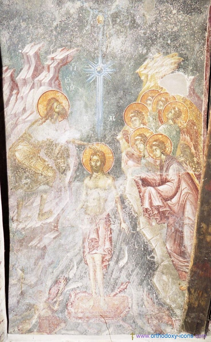 Frescoes of the Church of St. Nikita. Serbia (1320). Part VI