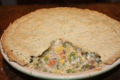 ... crust. | frugal living | Pinterest | Chicken Pot Pies, Pot Pies and