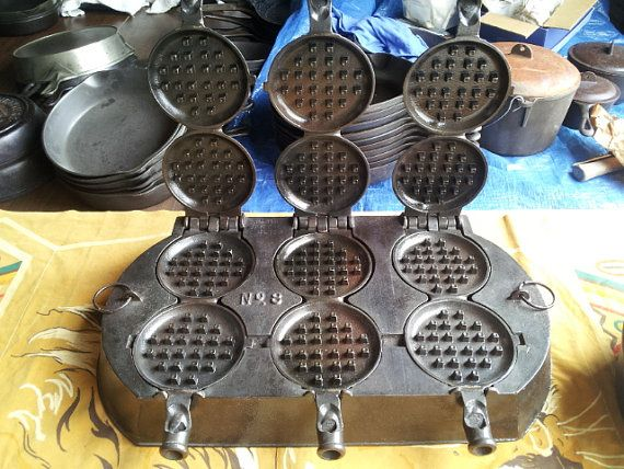 griswold french waffle iron