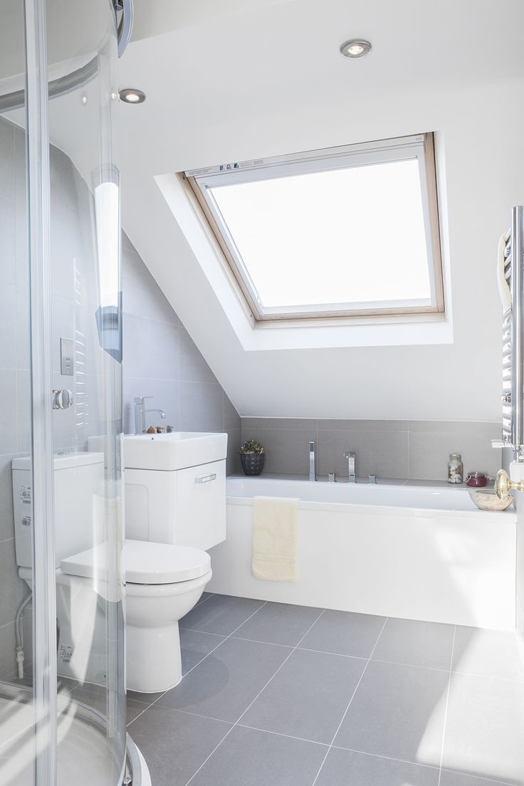 Attic design ideas interior example of - Attic Spaces Are Considered To Be Difficult To Decorate Due To The Roofs Of Various Shapes Let S Look At Some Examples Of Attic Bathroom Decor That Use