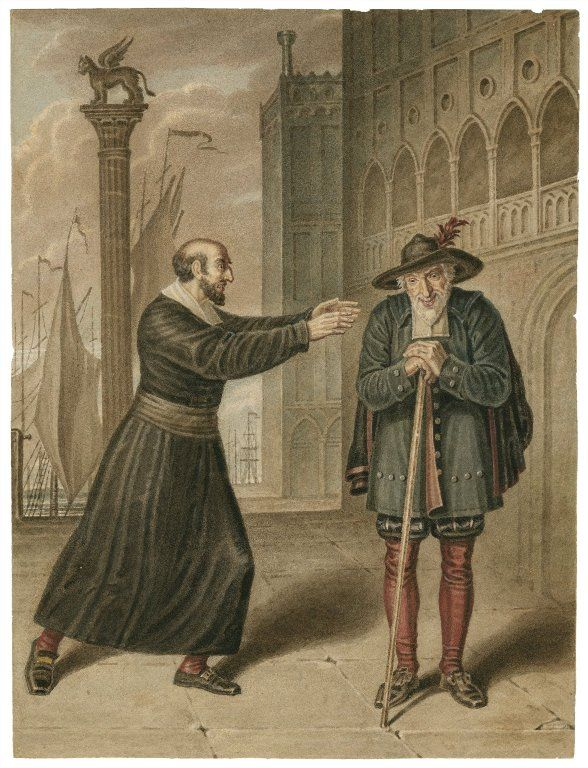 The Merchant of Venice by William Shakespeare Summary for Act 1 Scene 1