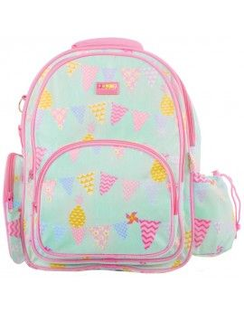 Penny Scallan Pineapple Bunting Large Backpack $69.95 www.mamadoo.com.au #mamadoo #backpacks #bags