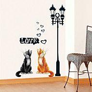 wall stickers Vægoverføringsbilleder, kat pvc wal... – DKK kr. 68