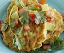 Corn and Zucchini Fritters in the Thermomix