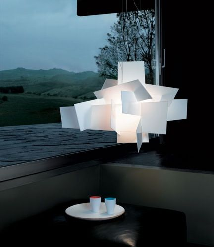 Big Bang suspension light by Enrico Franzolini and Vicente Garcia Jimenez. Available at SUITE New York.