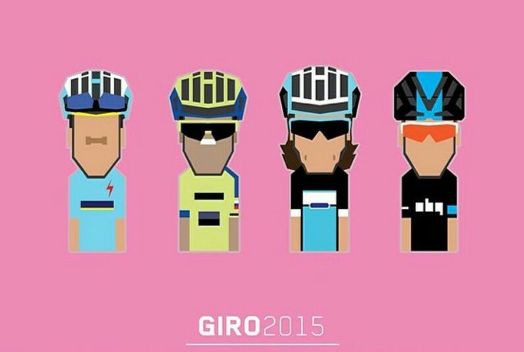 Pretendentes para o Giro-d'italia 2015