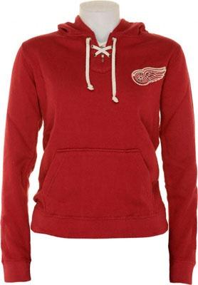 Detroit Red Wings Women's Lace Hooded Sweatshirt