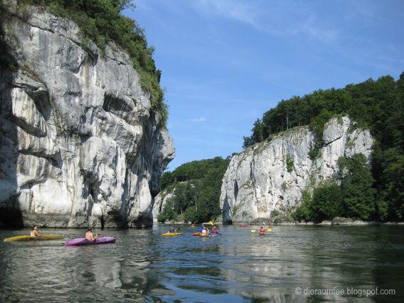 Die Raumfee: Auf der Donau bei Weltenburg, Altmühltal