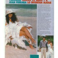 Verónica tendrá 29 años y a Juan Ferrara lo intentan matar. Revista TVyNovelas.