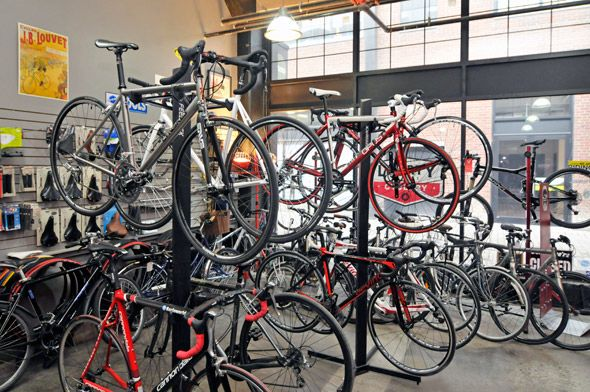 A great little bike shop in Liberty Village — Liberty Street Cyclery (171 East Liberty).