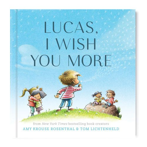 I Wish You More Personalized Book