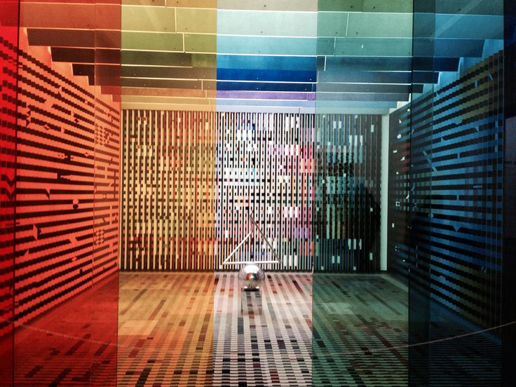Color room at centre george pompidou yaacov agam for Art minimal pompidou