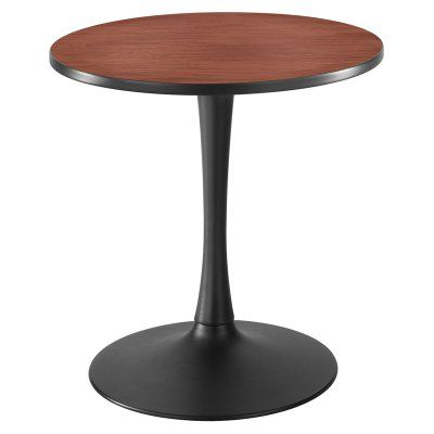Safco Cha-Cha Sitting Height Trumpet-Base Round Table - 2475CYBL