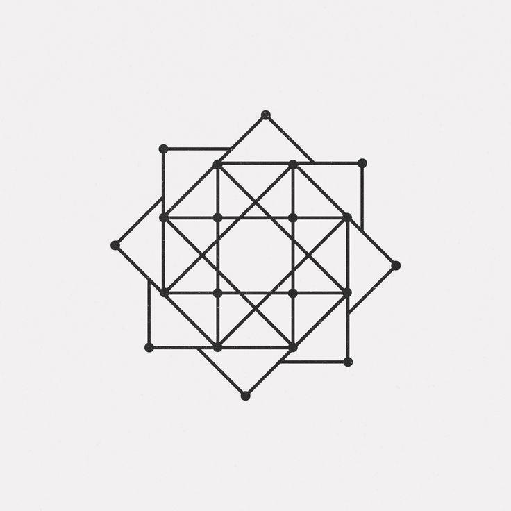 "dailyminimal: "" #JA16-470 A new geometric design every day """