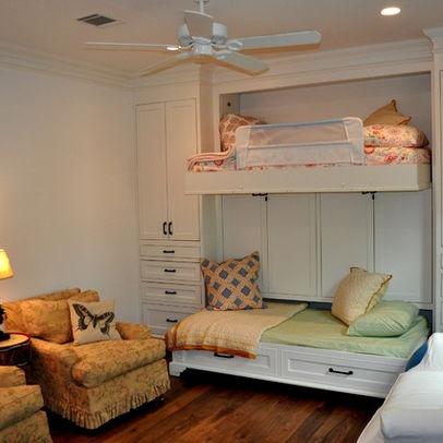 Murphy Bunk bed design, pretty cool idea.