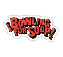 Bowling for soup band Sticker