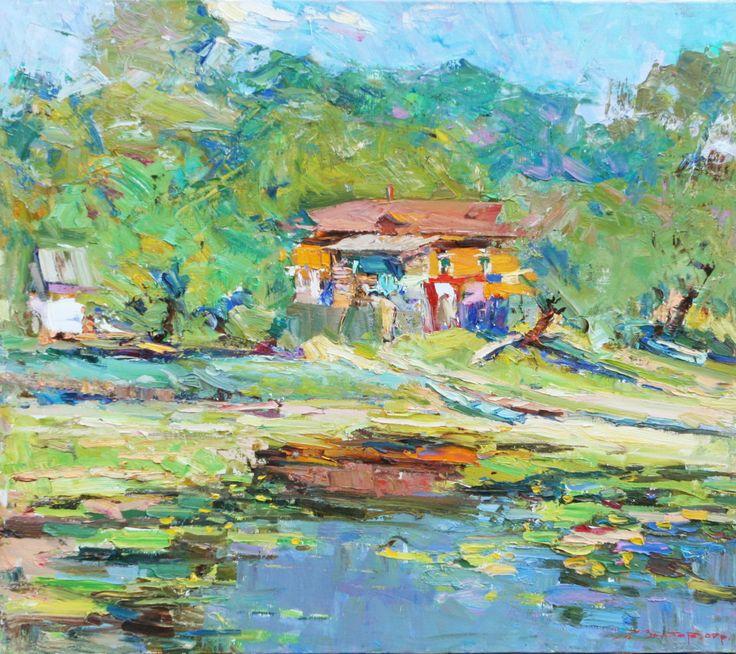 leonid-zaborovsky-lakeside-calm-2007-oil-on-canvas-70-cm-x-80-cm-jpg-jpg-