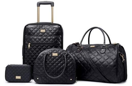 Chanel Luggage Sets Google Search Alluring Accessories Chanel Luggage Luxury Luggage
