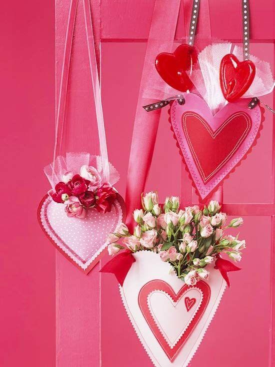 Blumen Herzen Valentinstag Geschenk Freundin