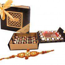 Just buy wonderful chocolate raksha bandhan gift for brother on this rakhi festival online from Zoroy. They have Raksha bandhan Mini Hamper with chocolates and Rakhi to your lovely bro.