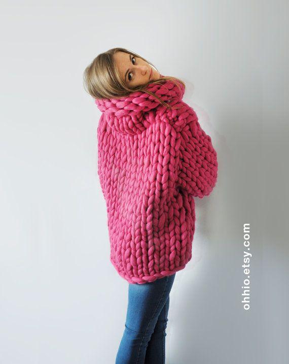 Mezzo punto. Super sweater. Oversize sweater. Merino by Ohhio