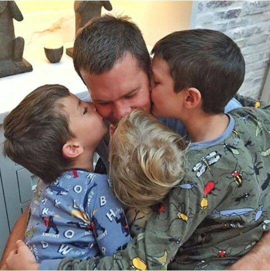 Tom Brady and his babies                                                       …
