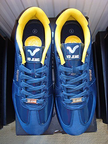 Mens Voi Jeans Murano Navy Lace Up Trainers (UK 8 EU 42) VOI http://www.amazon.co.uk/dp/B00MTU301K/ref=cm_sw_r_pi_dp_aE1Evb0127CW4