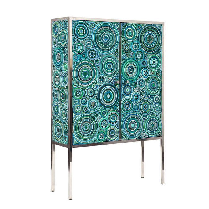 Fernando and Humberto Campana - Sushi Cabinet (Ocean) | From a unique collection of antique and modern cabinets at http://www.1stdibs.com/furniture/storage-case-pieces/cabinets/