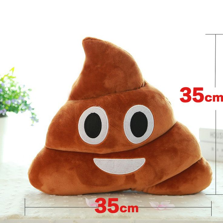 Free Shipping Hot Sale Cute Stuffed Plush Toy Doll  Poop pillow Poo cojines  coussin  Emotion pillow cushion Emoji pillows