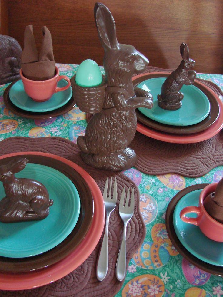 Easter Fiesta & 30 best fiesta images on Pinterest | Fiesta ware Dinnerware and ...
