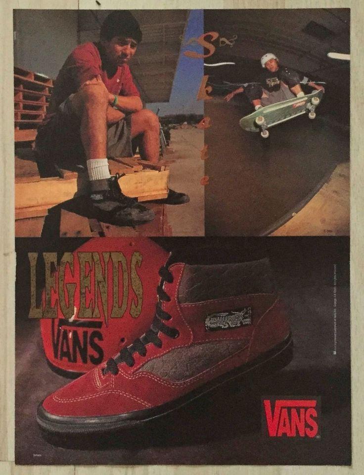 Vans Cab Shoe Powell Peralta Caballero Skateboard Pro Ad Bones Mini Poster | eBay