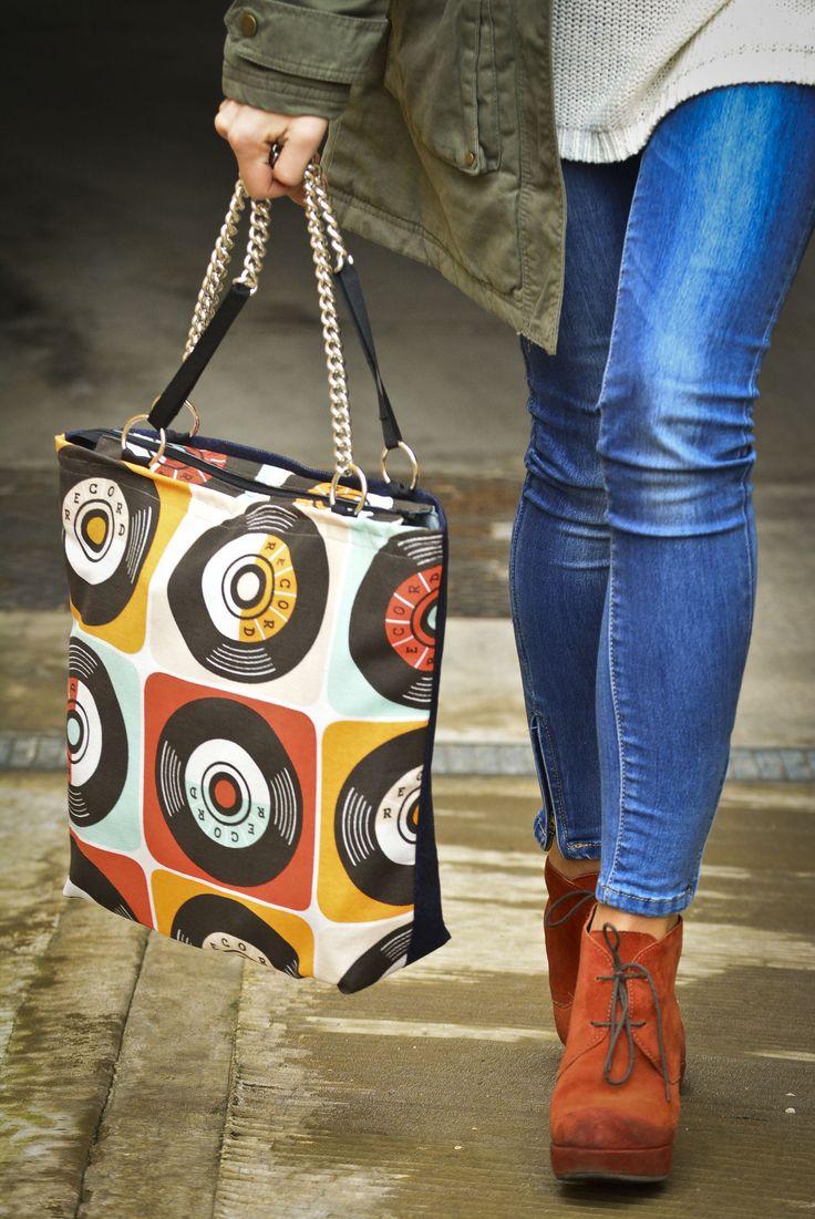 Maxi-bag pop art style 1. www.vanessavanhandmade.etsy.com