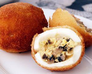 Яйца панированные, Уэвос эмпанадас, | Вкусные рецепты испанской кухни