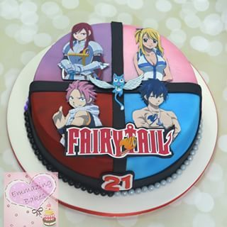 fairy tail cake - Google Search