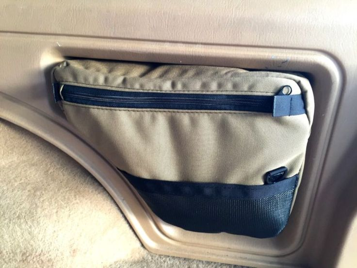 "Jeep Cherokee XJ ""parts"" rear storage bag"
