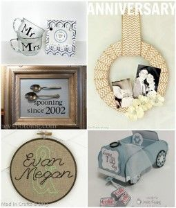Unique Handmade Wedding Presents