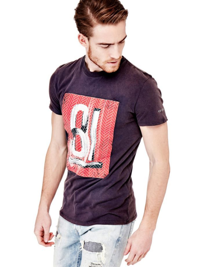 EUR39.90$  Buy now - http://vipwl.justgood.pw/vig/item.php?t=9sz3c2r37247 - T-SHIRT WITH PRINT ON THE FRONT