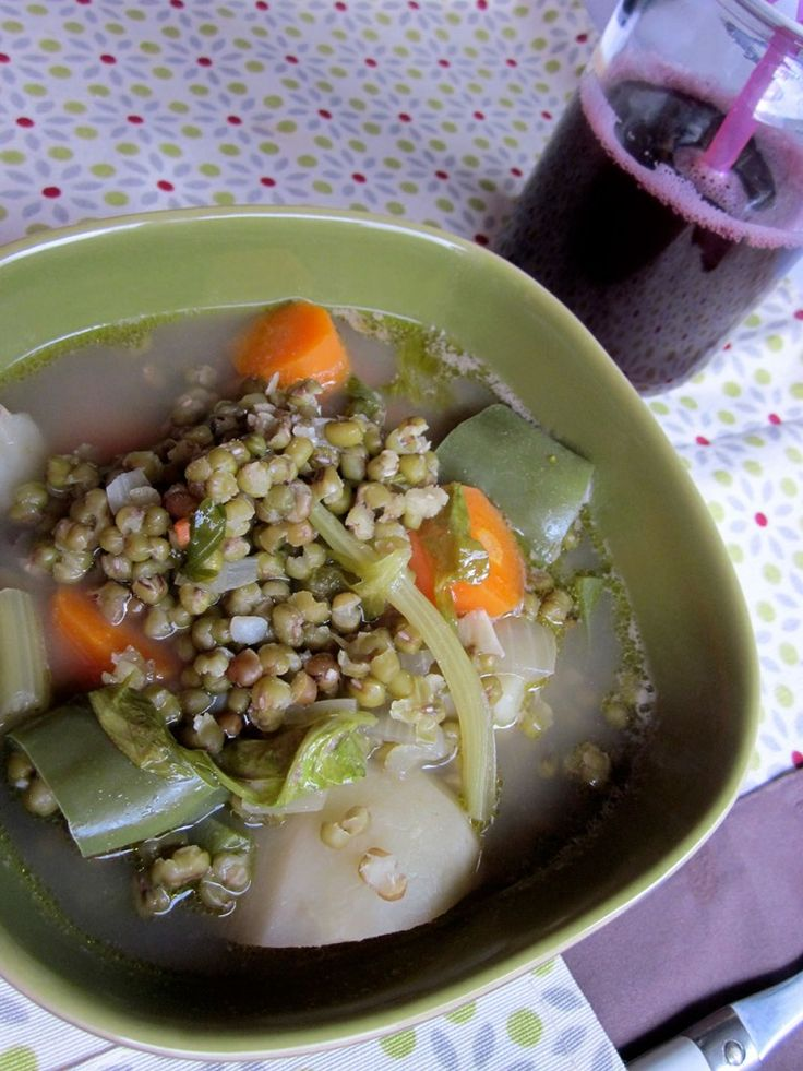 Guiso de judía mungo (soja verde) | TernUra Guisada