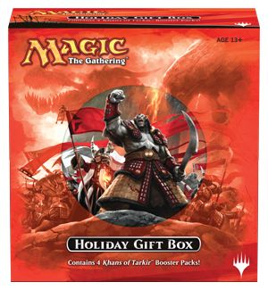 Magic the Gathering 2014 Holiday Gift Box RELEASES 11-14
