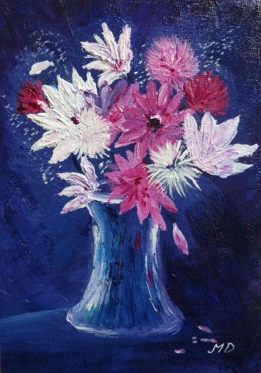 Buy Flowers and Seedheads, Acrylic painting by Margaret Denholm on Artfinder. Discover thousands of other original paintings, prints, sculptures and photography from independent artists.