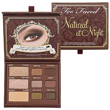 Too Faced Natural At Night Sexy & Sultry Neutral Eye Shadow Collection : Shop Eye Sets & Palettes  