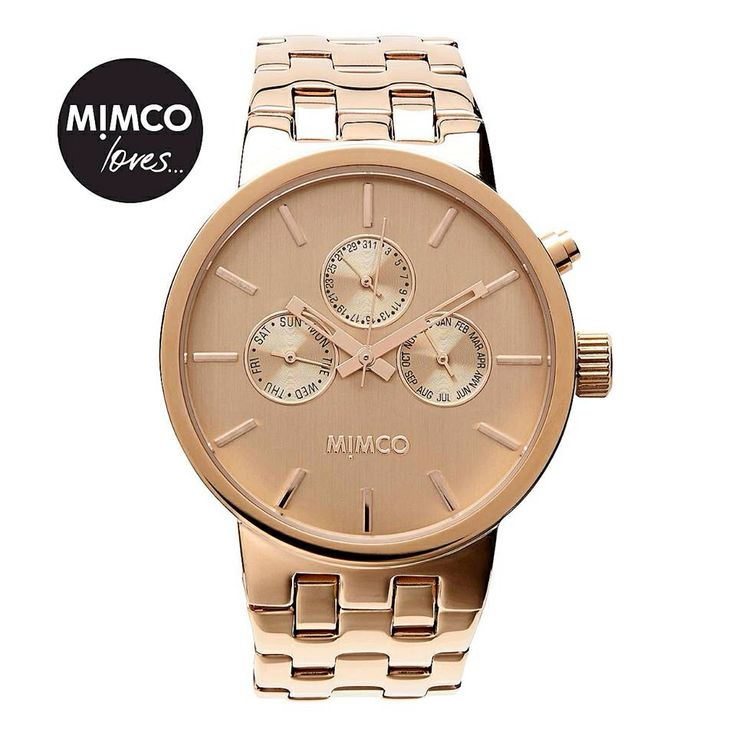 Mimco gold watch