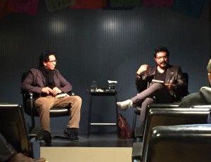 Fundació Han Nefkens » Eduardo Ruiz talks during the MXaBCN literary meetings
