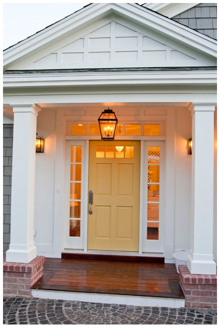 Color Is Benjamin Moore Dijon Front Door Pinterest