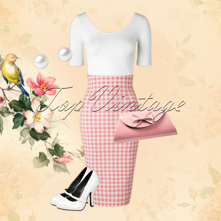 The perfect elegant spring look!