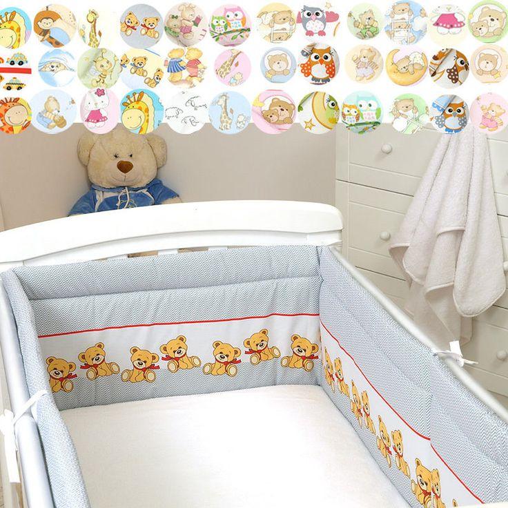Nestchen 30x420 30x350cm Bettumrandung Bettausstattung Bettnestchen Kantenschutz