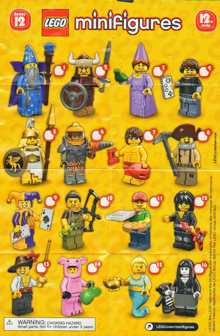 The Minifigure Collector: Lego MiniFigure Series 1 -14, Movie, Simpson- Checklists and Visual Guides