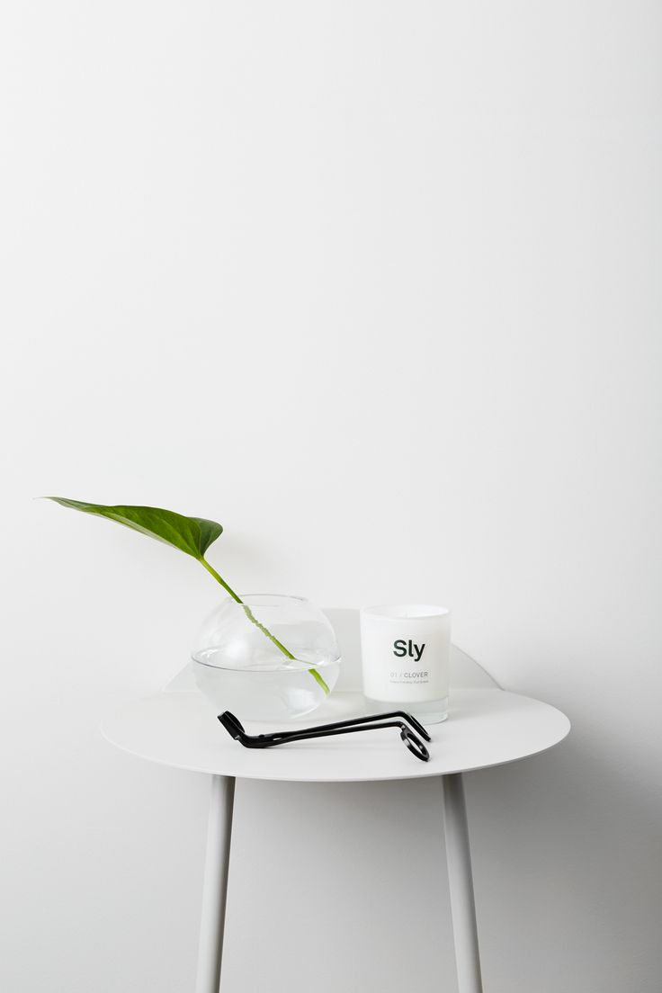 01/ CLOVER Luxury Soy Candle Sly Australia Shot by Annette O'brien