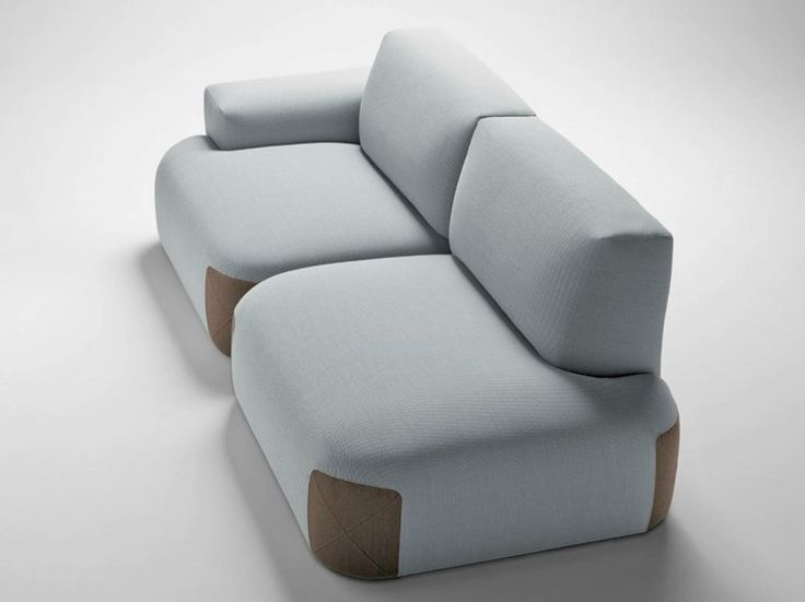 Upholstered Fabric Sofa Pedas Collection By Bosc | Design Jean Louis  Iratzoki